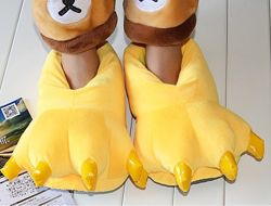 Тапки лапки коготки желтые / Тапочки-игрушки для кигуруми с коготками